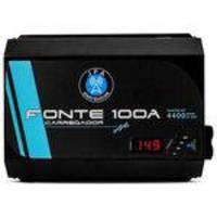 Fonte Carregador Bateria Jfa 100a Bivolt Automatico