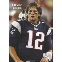 Notebook: Tom Brady Medium College Ruled Notebook 129 pages Lined 7 x 10 in (17.78 x 25.4 cm)