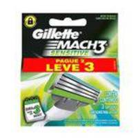 Carga Barbear Gillette MACH3 Sensitive Barcelona L3P2
