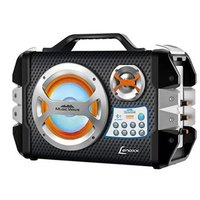 Caixa de Som Amplificadora Lenoxx Music Wave CA-303 Preta