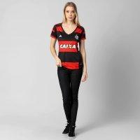 Camisa Feminina Adidas Flamengo I 2014 s nº  e351b1b507861