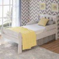 Mini-Cama Infantil Bella 100 Mdf Branco Carolina Baby