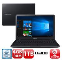 Notebook Samsung Essentials E34 Np300e5l kf1br Core I3 6006U 2GHz 4GB 1TB Windows 10