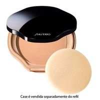 Base Refil Sheer and Perfect Compact Oil free SPF 15 Shiseido I60 Natural Deep Ivory