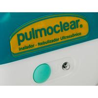 Inalador e Nebulizador Ultrassônico Soniclear Pulmoclear Verde e Branco Bivolt
