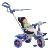 Triciclo de Passeio Smart Confort Bandeirante Azul