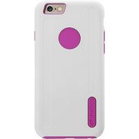 Capa para iPhone 6 Plus IKase Policarbonato Branca e Rosa