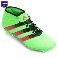 133e935c9b Chuteira Adidas Ace 16.2 Primemesh FG Campo Masculina Verde Limão e Pink
