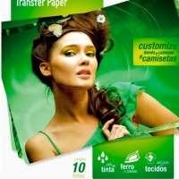 Papel Transfer Para Tecidos Multilaser 130g m2 A4 10 Folhas Pe020