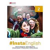 Insta English Student's Book 2: Student's Book & Workbook