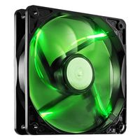 Fan para Gabinete COOLER MASTER 120mm LED Sickleflow R4-SXDP-20FG-R1 Verde