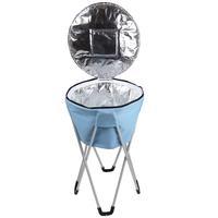 Ice Cooler Pedestal Mor 32 Litros Azul