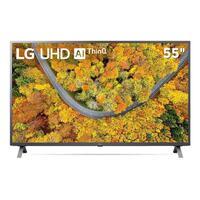Smart TV LG 55 4K UHD 55UP7550 Wi-Fi Bluetooth HDR Inteligência Artificial Thinq Smart Magic Google Alexa