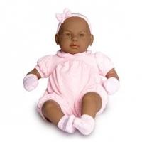 Boneca Bebê Real Negra Roma Jensen 48cm
