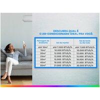 Ar condicionado Split Philco Inverter 12 000 Btus Frio 12000itfm9w