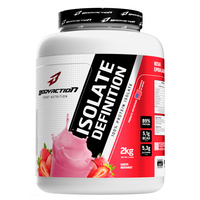 Suplemento Body Action Isolate Definition 100% Protein Isolate Morango 2kg