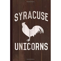 Syracuse Unicorns Journal Notebook: Blank Lined Ruled For Writing 6x9 110 Pages