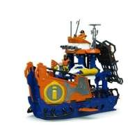 Imaginext Navio Comando Do Mar Mattel Dfx93