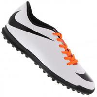 b8e8414454 Chuteira Society Nike Bravata TF Branca e Preta