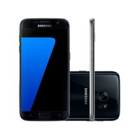 Smartphone Samsung Galaxy S7 SM-G930F Desbloqueado GSM 4G 32GB Single Chip Android 6.0 Preto