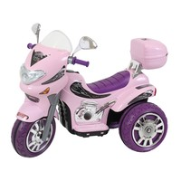 Moto Elétrica Infantil Sprint Turbo Rosa 2 Marchas Biemme