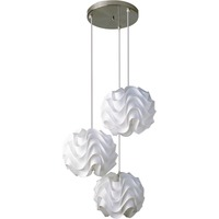 Pendente Stratec Wave Trio Branco