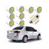 Kit Lampada Led Top Fiat Siena G4 2007 2008 2009 2010 2011