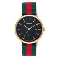 Relógio Feminino Analógico Orient FGSN1001G1EV Verde vermelho