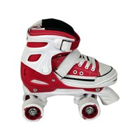 Patins All Style Classic Roller Nº 33 Ao 36 Bel Sports Vermelho