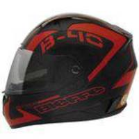 Capacete Bieffe B-40 Road Racer Preto/Vermelho