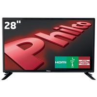 TV LED 28 HD Philco PH28D27D com Conversor Digital Integrado