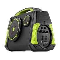 Caixa de Som Amplificadora Multilaser Party Speaker SP280 120W