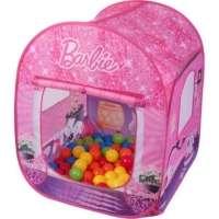 Barraca Barbie Brinquedo Barão 50 Bolinhas