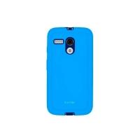 Capa para Motorola Moto G Icover Mycover Colors com Película Protetora Azul