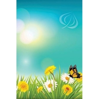 Butterfly Dandelions Blank Book: Blank Notebook Diary Memoir Log Logue