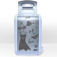 Lavadora de Roupas Praxis Petit Fitness 1.2Kg Prata