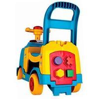 Andador Magic Toys Bichos AZ com Aro