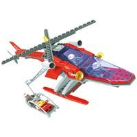 Blocos de Montar Bee Me Toys Bee Blocks Helicóptero Anjo 208 Peças