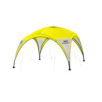 Gazebo Estrutural Coleman All Day Amarelo 3.7x3.7x2.2m