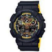 Relógio Casio G-Shock Anadigi Black & Yellow Ga-100by-1adr