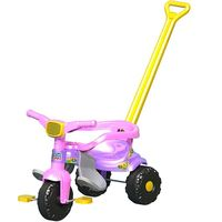 Triciclo Infantil Smart Super Festa Rosa Magic Toys Diversos