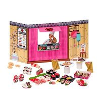 Barbie Massinha De Modelar Food Truck Comidas Japonesas Fun Diversos