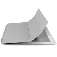 Case Sleeve Smart Cover Magnética para IPad 2 e 3 Multilaser PU com Micro Fibras Preto