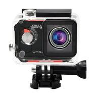 Câmera e Filmadora Xtrax Evo 12MP Preta e Vermelha