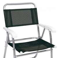 Cadeira De Praia Master Alumínio 2151 Preta Mor