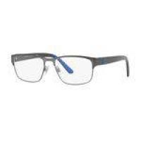 Armação Oculos Grau Polo Ralph Lauren Ph1171 9157 55 Grafite Azul