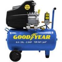 Compressor de Ar Goodyear 2,5HP 25L - GYCP000233
