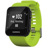 Monitor Cardíaco Com Gps Garmin Forerunner 35 Preto e Verde Claro