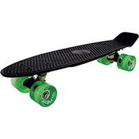 Skate Cruisers 4Fun 22 Led - 4 Fun Skateboards Black