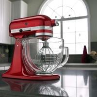 Batedeira Kitchenaid Stand Mixer Candy Apple Vermelha KED33A3ANA